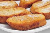 Torrijas, typical spanish dessert for Lent and Easter — Stock Photo