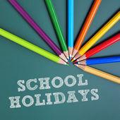 School holidays — Stock Photo