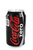 Can of Coca-Cola Zero — Stock Photo