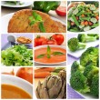 Vegan meals collage — Stock Photo #45296369