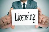 Licensing — Stock Photo