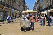Rua augusta en Lisboa, portugal — Foto de Stock