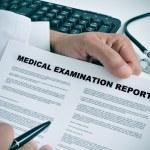 Medical examination report — Stock Photo #45539145