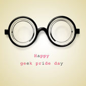 Happy geek pride day — Stock Photo