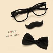 Happy geek day — Stock Photo