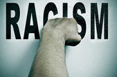 Fight against racism — Stockfoto