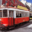 Typical old trams in Lisbon, Portugal — Stock Photo #47232873