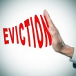 Stop eviction — Stock Photo #47232993