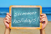 Summer holidays — Stock Photo