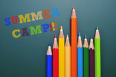 Summer camp — Stock Photo