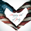 Happy 4th of july — Stock Photo #48213187