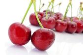 Appetizing cherries — Stock Photo