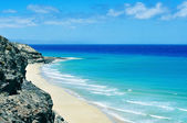 Butihondo Beach in Fuerteventura, Canary Islands, Spain — Stock Photo