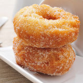 Rosquillas, typical spanish donuts — Stock Photo