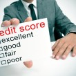 Credit score — Stock Photo #49235993