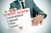 Credit score — Stock Photo