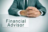 Financial advisor — Stock Photo