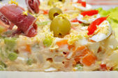 Spanish ensaladilla rusa — Stock Photo