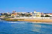 Beach of Tamariz in Estoril, Portugal — Stock Photo