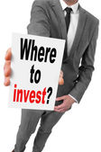 Where to invest? — Stock Photo