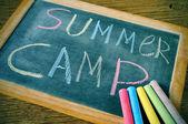 Campamento de verano — Foto de Stock
