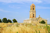 Sant Pere Church in Poble Vell de Corbera d Ebre in Spain — Stock Photo