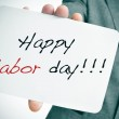 Happy labor day — Stock Photo #51745505
