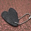 Leather heart — Stock Photo #8786965