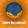 Royalty-Free Stock Vector Image: Halloween scary pumpkins