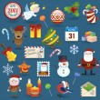 Christmas icons — Stock Vector #14130591