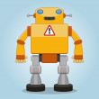 Royalty-Free Stock Vector Image: Classic robot 2