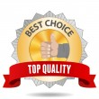 Best Choice Badge - Stock Vector
