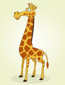 Giraffa — Vettoriale Stock
