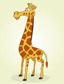Zürafa — Stok Vektör