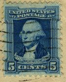 1932 George Washington 5 cents — Stock Photo