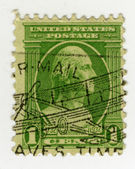 US Stamp — Foto Stock