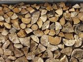 Stack av trä — Stockfoto