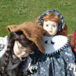 Dolls on Flea Market — Stock Photo