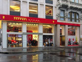 Ferrari Store in Milan — Stock Photo