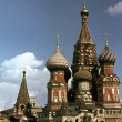Stock Photo: Saint Basil's Cathedral in Moscow, Russia