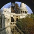 Fisherman Bastion,Budapest — Stock Photo