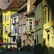 Street in Sopron — Stock Photo
