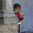 Girl, Cuzco — Stock Photo