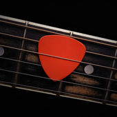 Guitar pick — Stock fotografie