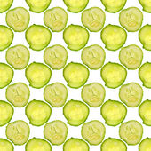 Cucumbers. Seamless texture. — Stock Photo