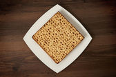 Matzot  on the table — Stock Photo