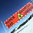 Ski risk - Stockfoto