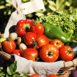 Some fresh vegetables — Stock Photo #12431337