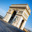 Famous Arc de Triomphe — Stock Photo #12699060