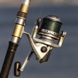 Fishing reel with sunlight — Stock Photo #12717965